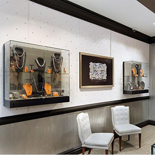 Revestimiento mural Estilo Cuero Cristales de Vidrio WallFace 15044 CRISTAL ROMBO Panel autoadhesivo blanco 2,60 m2: Amazon.es: Bricolaje y herramientas