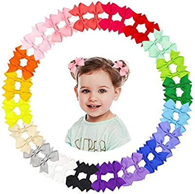 Color : Red Check 2pcs Mother /& Daughter Dotted Rabbit Ear Hair Band Women Infant Kid Girl Headband Set