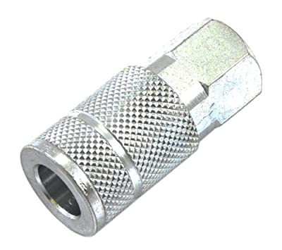 Forney 75230 Tru-Flate Style Air Fitting Coupler with 3/8-Inch-by-1/4-Inch Female NPT