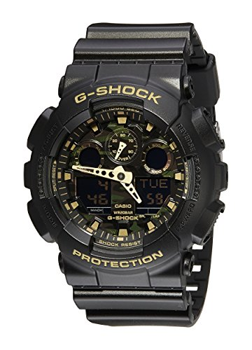 Casio GA 100CF 1A9CR G Shock Camouflage Watch