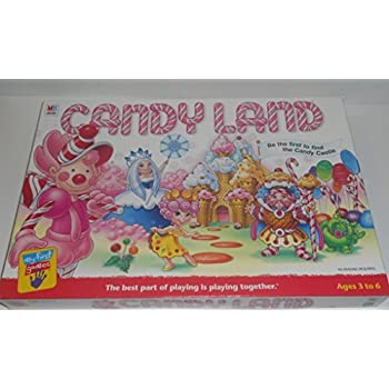 Amazon Com Candy Land Candyland Board Game 1999 Edition