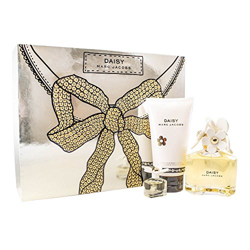 Marc Jacobs Daisy Gift Set for Women (Eau De Toilette Spray, Luminous Body Lotion, Mini Eau De Toilette Splash) ()