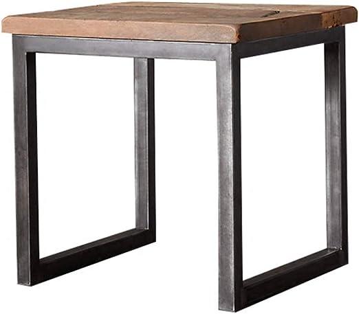 ZHAOYONGLI Mesa auxiliar mesas Mesa De café Estilo Industrial De ...