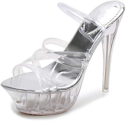 Uihoa Sandalias Tallas Grandes Verano De Calidad Superior Tacones Altos Zapatos De Mujer Zapatos De Fiesta Sandalias De Mujer Amazon Com Mx Deportes Y Aire Libre