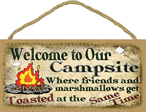 Welcome To Our Rolling Estate Camp Sign made our list of gift ideas rv owners will be crazy about make perfect rv gift ideas