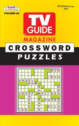 (TV Guide Crossword Puzzle Book-Vol.40)