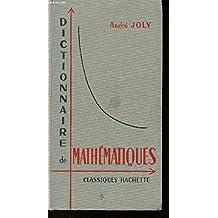 Dictionnaire de Mathematiques.