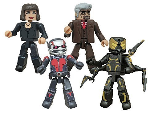 Diamond Select Toys Marvel Minimates: Ant-Man Movie Box Set Action Figure by Diamond Comic Distributors