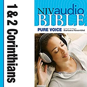 NIV New Testament Audio Bible, Female Voice Only: 1 and 2 Corinthians Audiobook