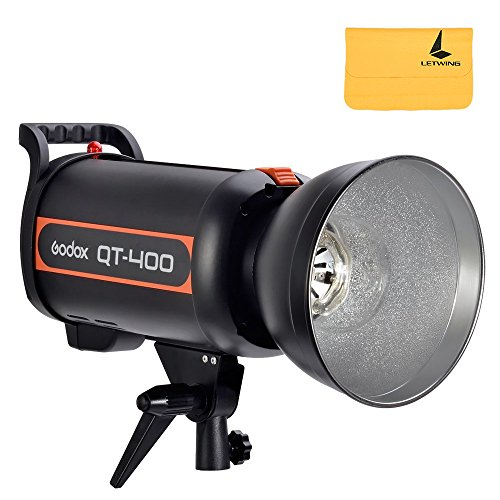 Godox QT400 110V 400WS Photography Studio Flash Monolight Strobe Photo Flash SpeedLight Light by Godox