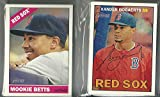 2015 & 2016 Topps Heritage Boston Red Sox 2 Team Set Lot (34) cards