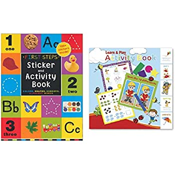 "Amazon.com: Activity Books for Kids: ""First Steps"" Sticker"