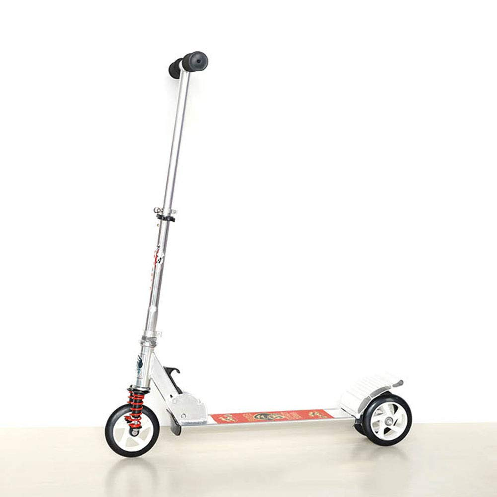 Cqing Three-Wheeled Children's Scooter Can Lift All Aluminum Alloy Folding Scooter with Shock Reduction Pu Wheel by Cqing