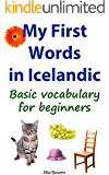 My First Words in Icelandic: Basic vocabulary for beginners (Learn Icelandic Book 1)