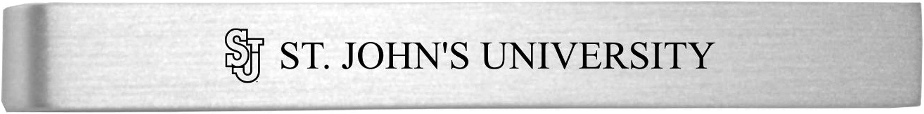 Cloud State University-Brushed Metal Tie Clip-Silver St