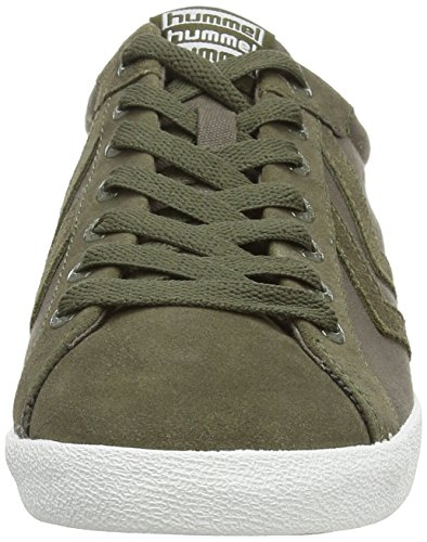 Deuce Vert adulte Baskets Basses Green Ivy Canvas mixte Hummel Court 40dFpwq