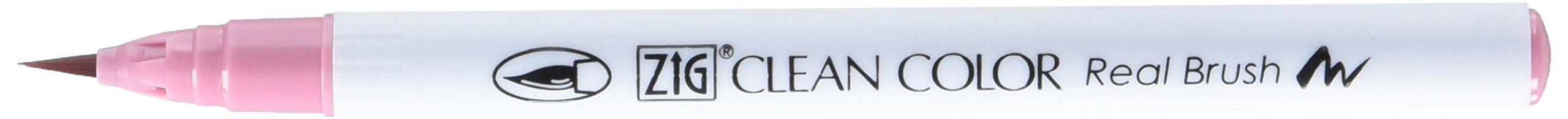 Zig RB6000AT-230 Clean Color Real Brush Marker, Pale Rose