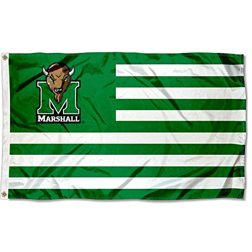 Marshall University - Marshall Thundering Herd Stars and Stripes Nation Flag