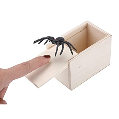 Scare Box Spider Prank: Toys & Games