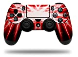 Vinyl Skin Wrap for Sony PS4 Dualshock Controller Lightning Red (CONTROLLER NOT INCLUDED) Review