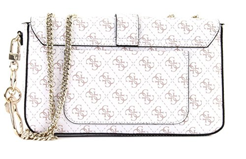 White Convertible Joslyn GUESS Crossbody Flap 1PTInxAqw