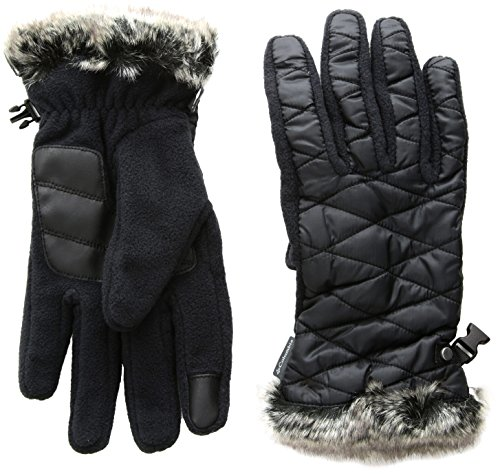 Columbia Women's Heavenly Gloves, Black, Large