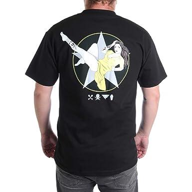 49d6462f22ce Amazon.com: Fatal Men's Overseas T-Shirt Black: Clothing