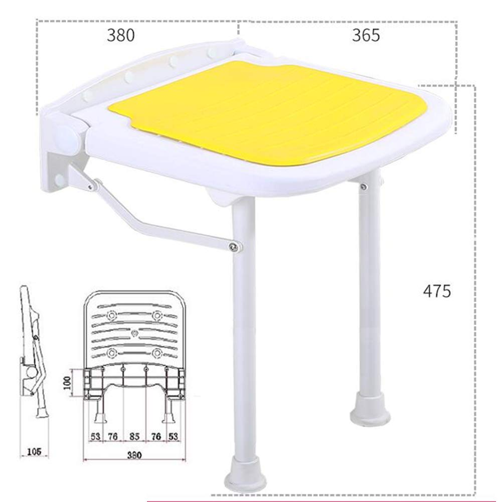 orange 380x365x475mm JIANFEI Footstool shoes Shelf Rack Height Adjustable Bathroom Corridor,4 colors 4 Size (color   Yellow, Size   380x365x450mm)
