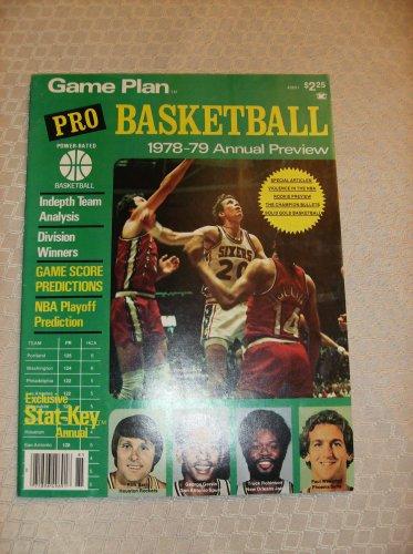 1978-79 GamePlan Pro Basketball Magazine (Annual Preview, Volume 2)