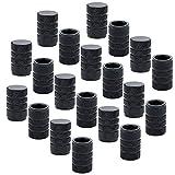 Best Stem Valves - 24 Pcs Black Auto Tyre Tire Valve Stem Review