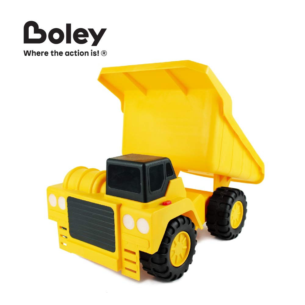 18 Button-Activated Light /& Sound Construction Toys with Moveable Load Container Boley Large Jumbo Dump Truck Construction Vehicle Perfect Car Truck Toy for Toddler Boys Girls Kids 1057A