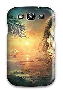 Hot Tpu Cover Case For Galaxy/ S3 Case Cover Skin - Skull Fantasy 2404666K63484755