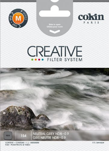 Cokin P154 Filter, P, Grey Neutral Density 8X (Cokin Nd Filter P)