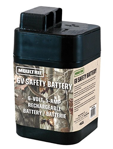 Moultrie volt rechargeable safety batteries for