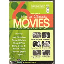 All-Star 6 Horror Classic Movies - Home Library Collection: