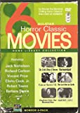 All-Star 6 Horror Classic Movies - Home Library Collection: (The Little Shop of Horrors / Tormented / House on Haunted Hill / The Last Man on Earth / Creature From The Haunted Sea / Nightmare Castle)