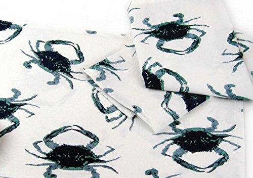 Blue Crab Dish Towels, Set of 2