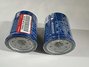 2unidades, 2filtros de aceite para Honda 15400-plm-a01pe
