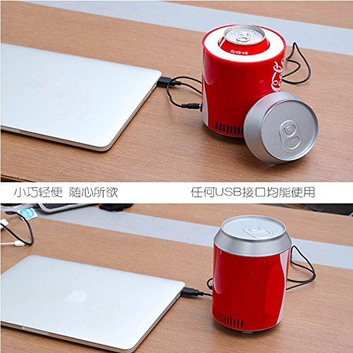 Buy Bargain Sedeta Mini Car Refrigerator DC5V USB Auto Coca Bottle Coke Can Portable Beer Beverage D...