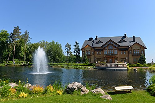 LAMINATED POSTER Kiev Pond House Fountain Mezhyhirya Yanukovych Poster 24x16 Adhesive Decal