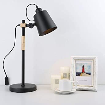 Lámpara Mesa Ángulo Ajustable Interfaz E27 Oficina Dormitorio ...