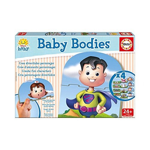 Educa - 16222 - Réveil Éducatif - Baby Bodies