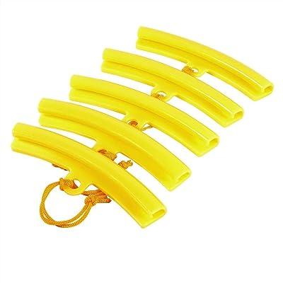 Car Tire Rim Protectors Wheel Rim Saver Tyre Edge Changing Guard Rim Protector Removing Tool for Motorcycle Bike 5 Pcs (Yellow): Automotive