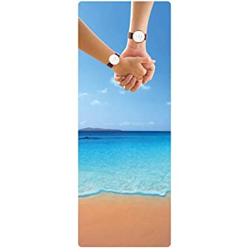Amazon.com: Yoga Mat New Natural Rubber Yoga Mat Non-Slip ...