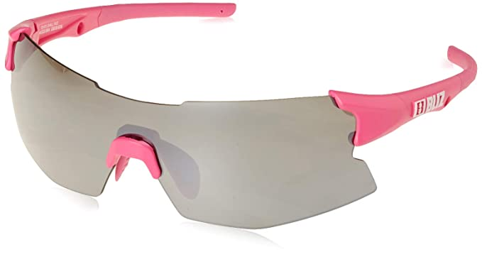 Image Unavailable. Image not available for. Color  Bliz Active Tempo Small  Face Wrap Sunglasses Rubber Neon Pink ... 2b99dcb57ca61