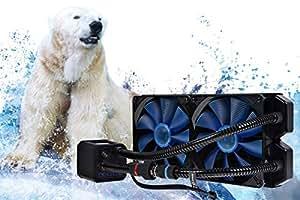 Alphacool Eisbaer 280 CPU Water Cooler - Black