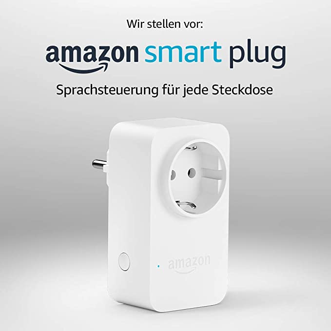 Amazon Smart Plug (WLAN-Steckdose), funktioniert mit Alexa