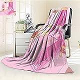 AmaPark Weave Pattern Extra Long Blanket Teen Interior Of Princess Bedroom ed Ornament Pillow Lamp Mirror Lightweight Blanket Extra Big