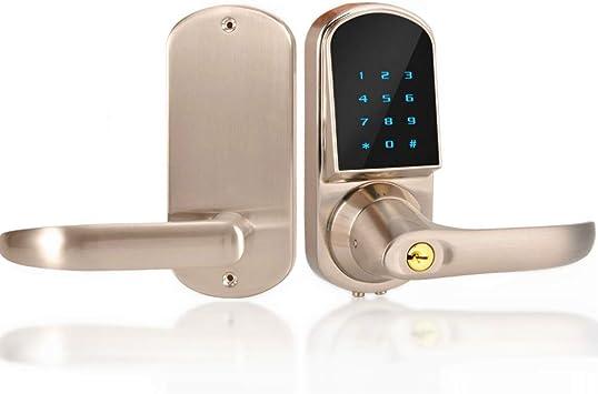 Cerradura de Puerta Bluetooth, Digital Control Teclado ...