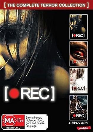 Amazon com: Rec: 4 Movie Pack | 4 Discs | English Subtitles | NON